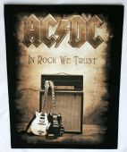 AC/DC - 'In Rock We Trust' Giant Backpatch